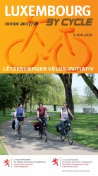LUXEMBOURG BY CYCLE 2017 COVER