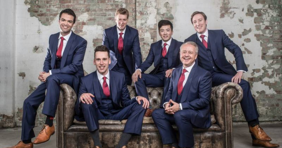 The King's Singers - 26/06/2016 - ORT Mullerthal
