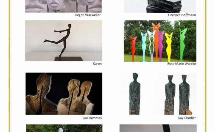 Flyer Exposition Internationale de Sculptures Christnach 2018-1