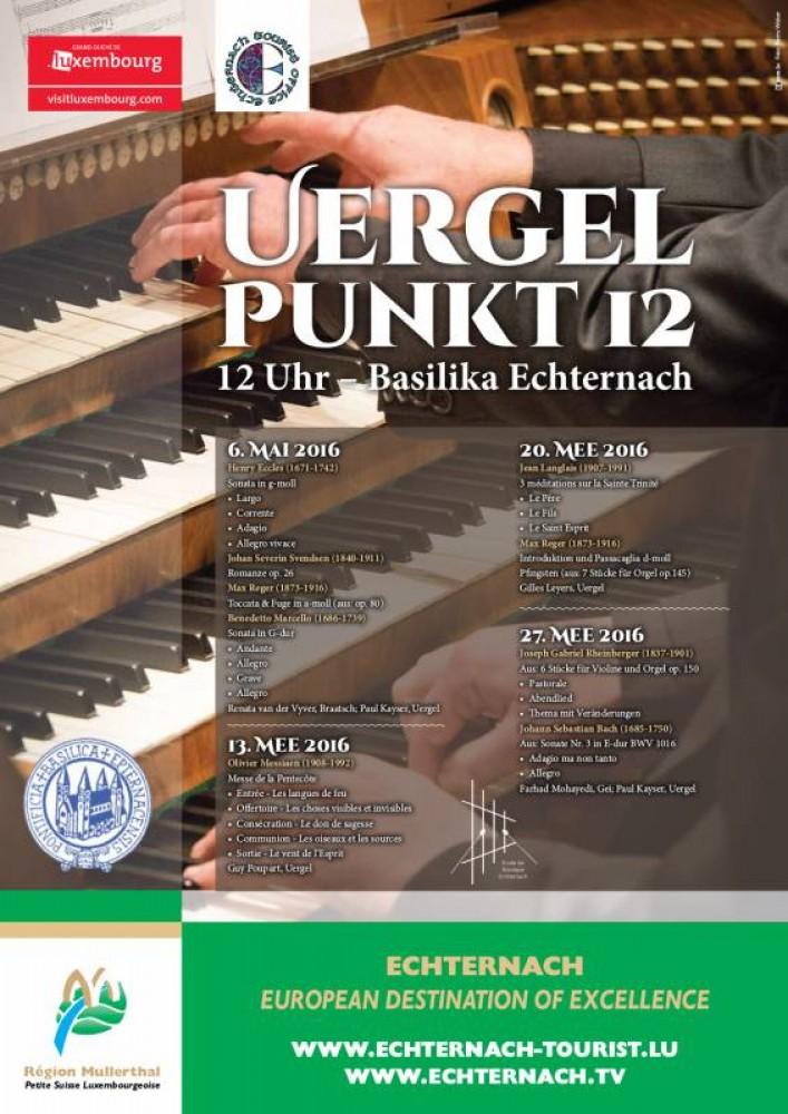 Uergel Punkt 12 - 06/05/2016 - ORT Mullerthal